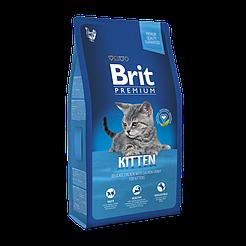 Brit Premium Cat Kitten Chicken корм для котят на основе мяса курицы 8кг