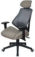 Кресло офисное для руководителя Alto grey