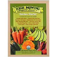 High Mowing Organic Seeds, Начинающий садовод, Коллекция органических семян, В ассортименте, 10 пакетов