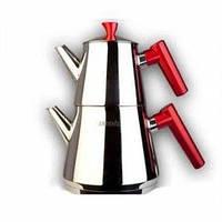 Двухъярусный чайник турецкий Vivaldi (чайник 1 л + заварник 0,4 л)