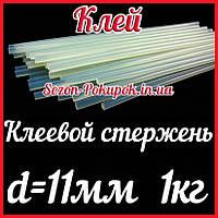 (~1кг,11мм) INTERTOOL Клеевой стержень 11мм-30см (34-36шт)