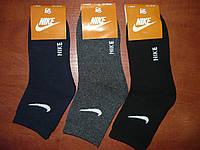 Подростковые махровые носки Nike. Короткие. р. 35-41