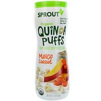 Sprout Organic, Шарики с киноа, манго и морковь, 1,5 унции (43 г)