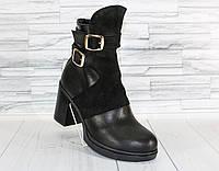 Зимние ботинки. Натуральная  кожа. 1504
