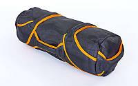 Сумка для кроссфита TRAINING BAG (терилен,нейлон,р-р 60х20 см, 4 филлера до 10 кг для песка), фото 1