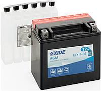 Мото аккумулятор Exide YTX14-BS = ETX14-BS