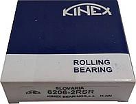 Подшипник 6206 2RSR (180206) KINEX