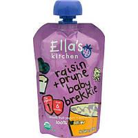 Ella's Kitchen, Детский завтрак с изюмом и черносливом, стадия 1, 3,5 унции (99 г)