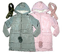 Зимние пальто-куртки для девочек на холлофайбере и меховой подкладке из  Венгрии 6 afc9363371580