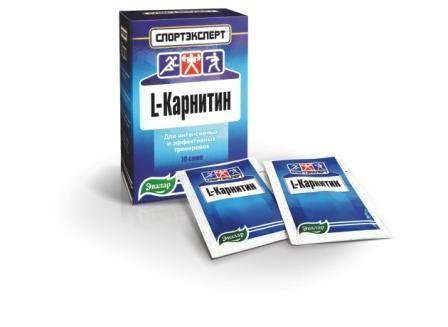 L - Карнитин (Спортэксперт) Эвалар 10саше