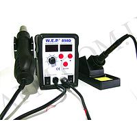Паяльная станция WEP 898D фен,   паяльник
