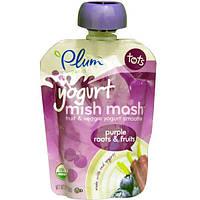 Plum Organics, Tots, йогуртовая смесь, фиолетовые корнеплоды и фрукты, 3,17 унции (90 г)