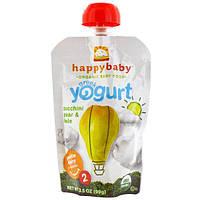 Nurture Inc. (Happy Baby), Этап 2, греческий йогурт, цуккини-груша-листовая капуста, 3,5 унции (99 гр)