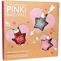Luna Star Naturals, Pinki Nautrali, Joyful Heart Beats, 3 Mineral Nail Polishes, 0.25 fl oz (7.5 ml) Each