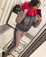 Женский очень красивый зимний костюм, в расцветках