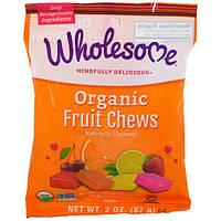 Wholesome Sweeteners, Inc., Органические фруктовые жевательные конфеты, 2 унции (57 г)