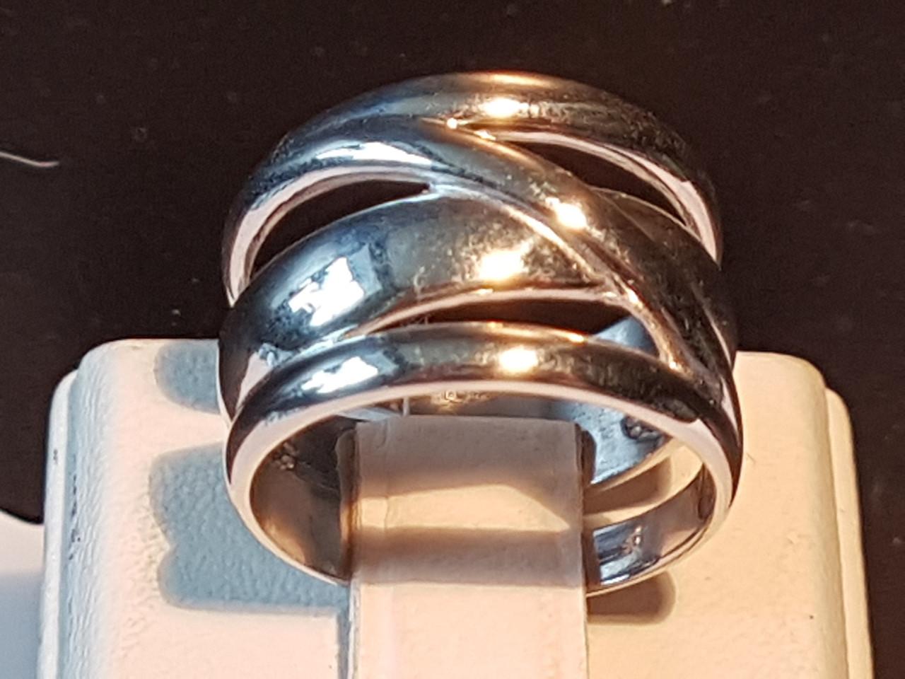 Серебряное кольцо. Артикул 1019р 17
