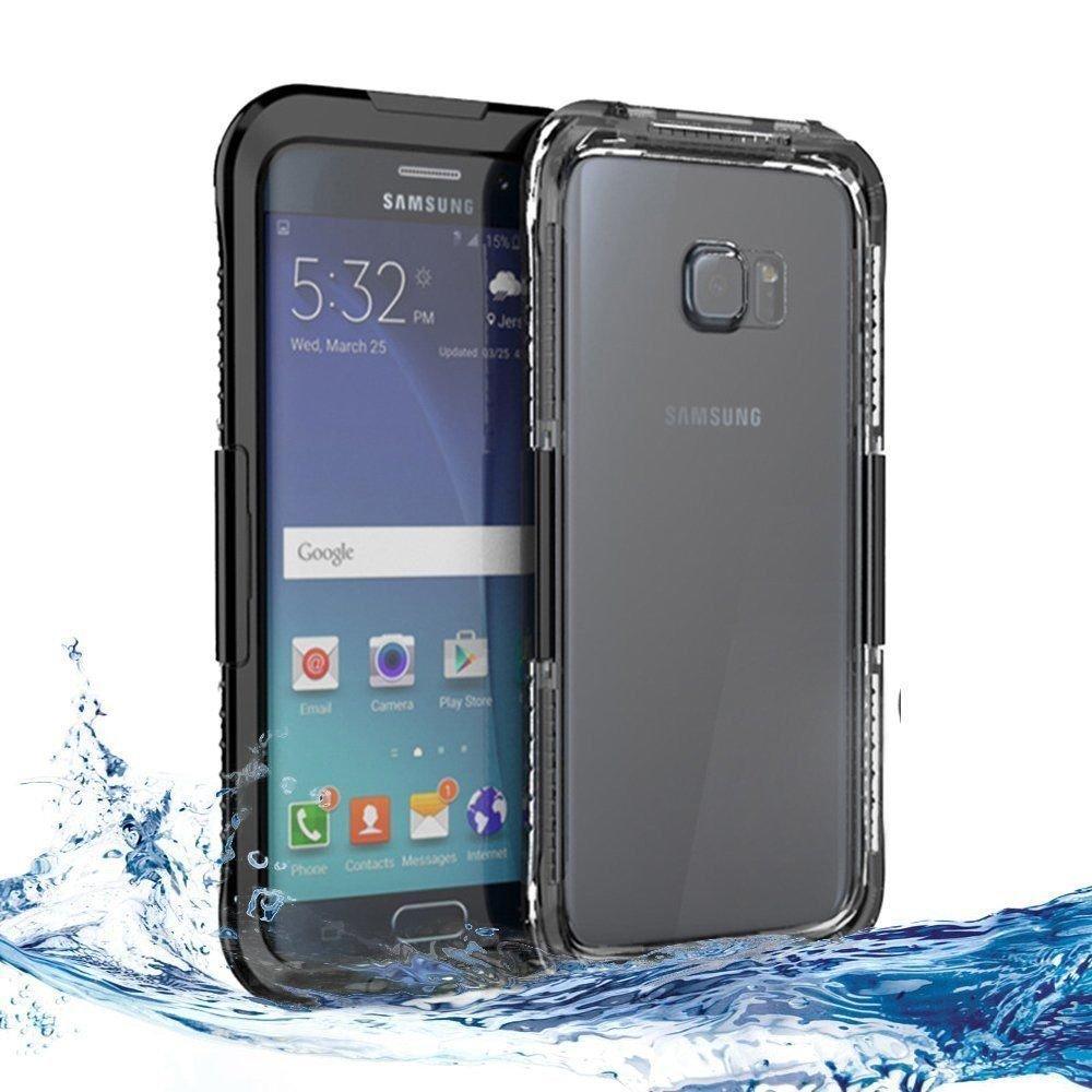 Подводный чехол аквабокс PRIMO для Samsung S6 / S6 Edge - Black