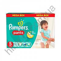 Подгузники-трусики Pampers Pants Размер 5 (Junior) Mega Box 11-18 кг, 96 шт