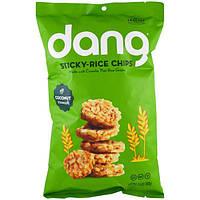 Dang Foods LLC, Чипсы из клейкого риса, кокос, 3,5 унций (100 г)