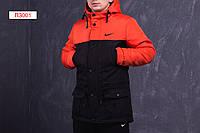 Зимняя мужская парка (-30°) с технологией двойного утеплителя. Теплая! Практичная! Код: ПЗ001/900