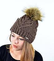 Детская, подростковая  зимняя шапка