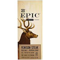 Epic Bar, Морская соль c олениной + перечная полоска, 20 полосок, 23 г (0,8 унции) каждая