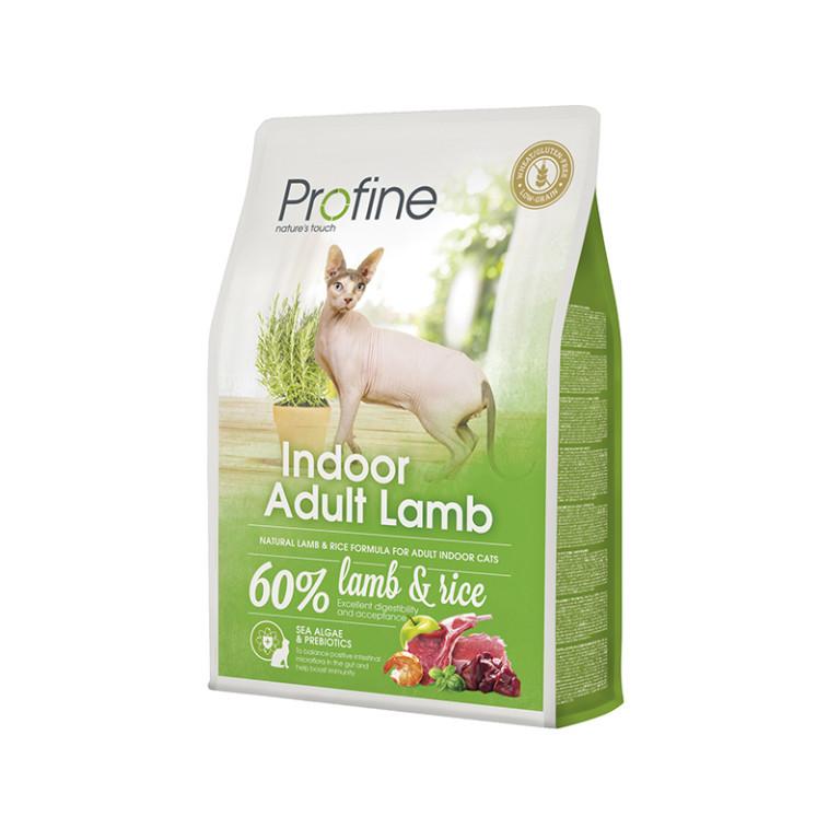 Profine INDOOR корм для котів живуть вдома (ягня+рис)2кг