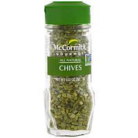McCormick Gourmet, All Natural, лук-резанец, 3 г (0,12 унций)