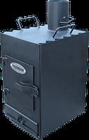 Пиролизная печь Теплун Практик (удлиненная) 130 куб