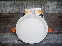 Светодиодный встраиваемый светильник (даунлайт) LEO-18, 18W 4000K