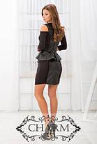 Нежное платье с баской, фото 3