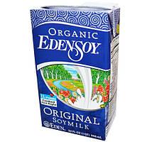 Eden Foods, Органический продукт EdenSoy, Натуральное соевое молоко, 32 жидких унции (946 мл)