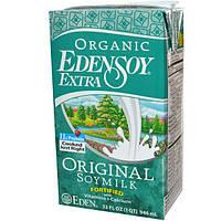 Eden Foods, Органический продукт EdenSoy Extra, Натуральное соевое молоко, 32 жидких унции (946 мл)