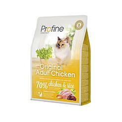 Profine ORIGINAL ADULT натуральное куриное мясо и рис для котов и кошек всех пород 2кг
