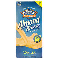 Blue Diamond, Almond Breeze, миндальное молоко, ваниль, 32 жидкие унции (946 мл)