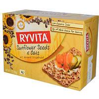 Ryvita, Хлебцы, семена подсолнечника и овес 7 унции (200 г)