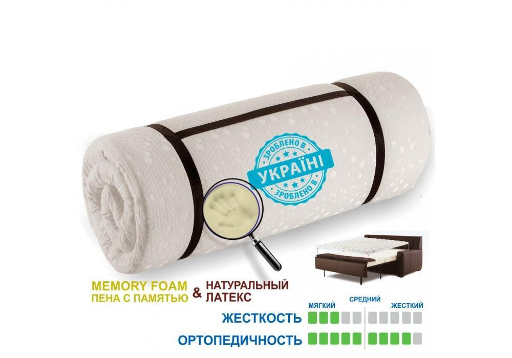 Матрас Memotex Matro-Roll-Topper / Мемотекс 140х200 (Матролюкс-ТМ)