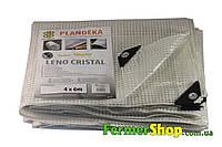 Тент армированный прозрачный водонепроницаемый LENO CRISTAL 100 г/м², размер: 3х4 м - Польша