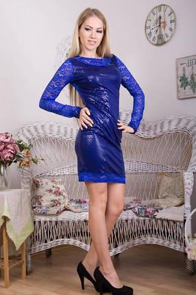 Гипюровое вечернее  платье  масло чешуя  , фото 2