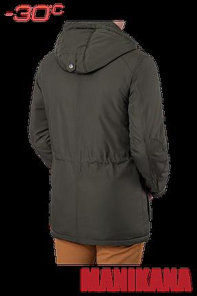 Зимняя мужская куртка хаки MANIKANA (р. 48-56) арт. 17183 А, фото 2