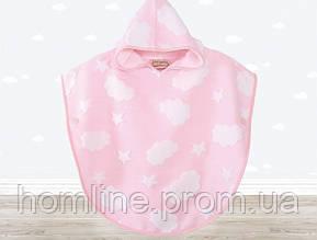 Пончо детское Irya Cloud Pancosu розовое