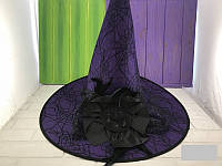 Шляпа колпак паутина с цветком