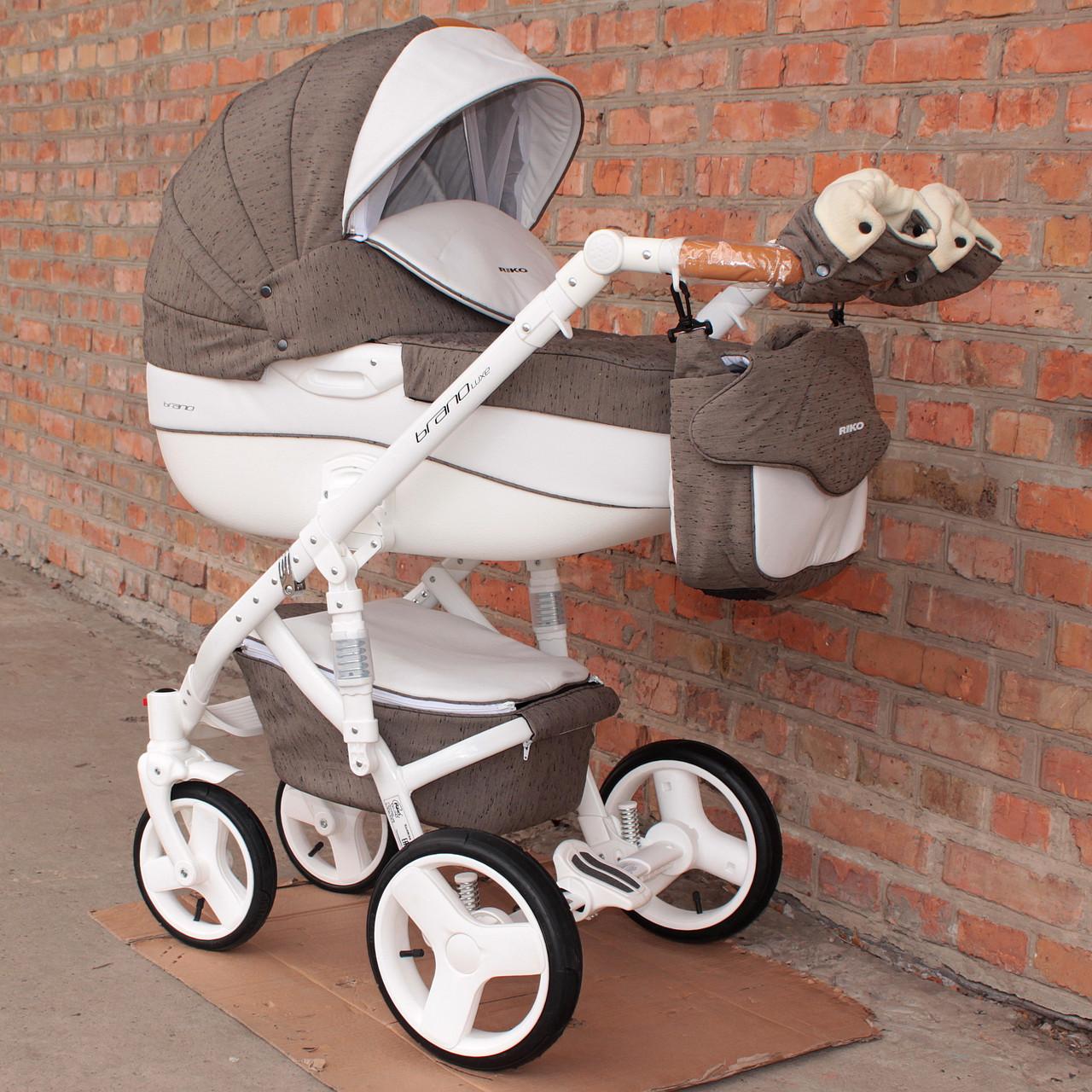 Детская универсальная коляска 2 в 1 Riko Brano Luxe