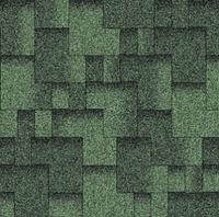 Черепица битумная Акцент Зеленая ЭКО