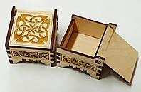 Коробочка деревянная для колец