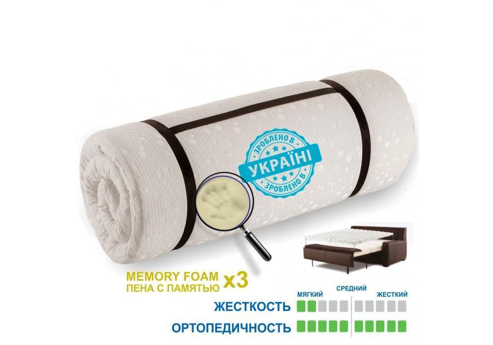 Matro-Roll-Topper Memotex Advance / Мемотекс Адванс 140х190 (Матролюкс-ТМ)