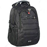 Оригинальный городской рюкзак Swissgear 8613, черный
