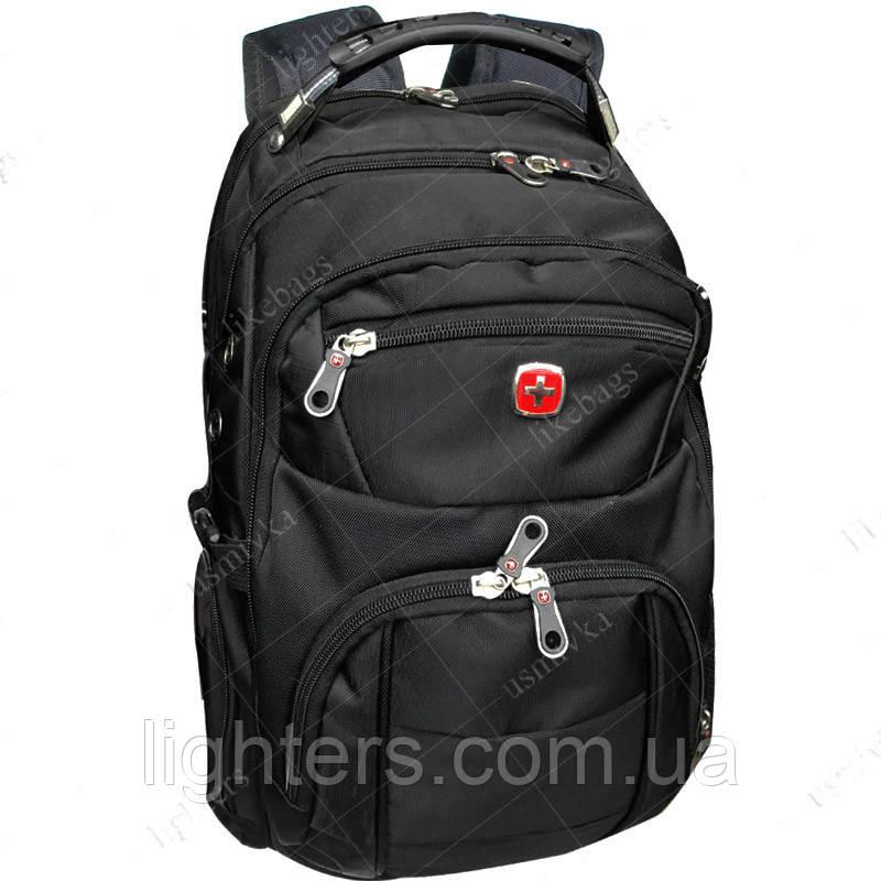 8fd36463b0da Современный рюкзак Swissgear 7697, черный, цена 398,46 грн., купить ...