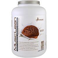 Metabolic Nutrition, MuscleLean, гейнер для увеличения массы сухой мускулатуры, шоколадный молочный коктейль, 5 фунтов
